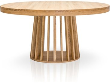 Table ovale extensible Eliza Chêne clair