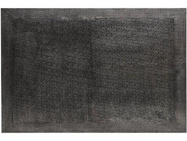Tête de lit Reverie 180cm Effet Métal Noir