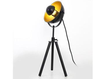 Lampe de table Loxias Noir et Or