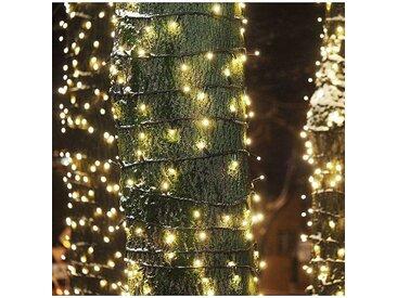GREADEN GUIRLANDE LUMINEUSE 8M BLANC CHAUD 100 LED