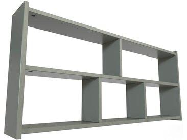 Étagère pour lit mezzanine Largeur 120cm Gris