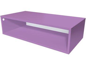 Cube de rangement 100x50 cm bois  Lilas