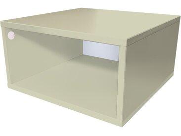 Cube de rangement 50x50 cm bois 50x50cm Moka