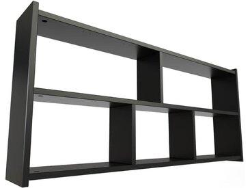 Étagère pour lit mezzanine Largeur 90cm Noir