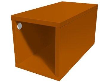 Cube de rangement 25x50 cm bois 25x50cm Chocolat