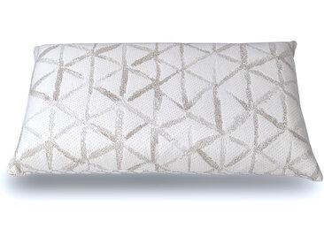 Oreiller 70 x 40 cm  Latex 100% naturel et housse en coton biologique