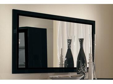 Miroir Roma Laqué Noir - Basika
