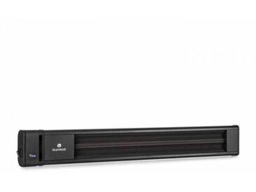 Blumfeldt Cosmic Beam Chauffage de terrasse radiant infrarouge 1800 W IP24 Télécommande