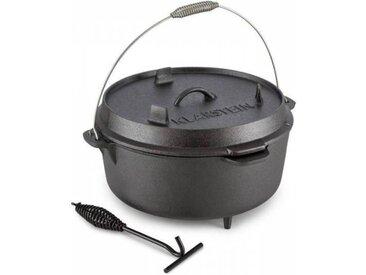Klarstein Hotrod 145 Cocotte BBQ 12 qt / 11,4 litres Fonte - noir