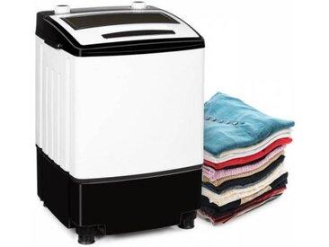 Klarstein Bubble Boost Machine à laver pour 3,5kg de linge minuterie 380W -noir