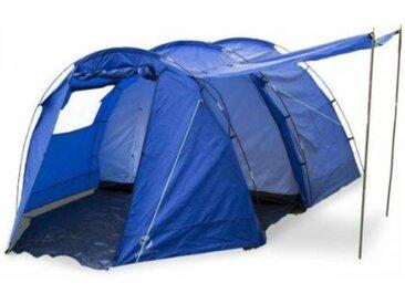 Yukatana Jomida Tente de camping tunnel 4 places 260x150x410cm 3000mm -bleu