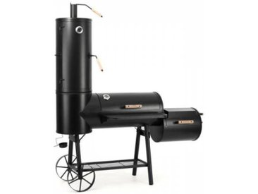 Klarstein Monstertruck Smoker Grill BBQ fumoir acier - noir