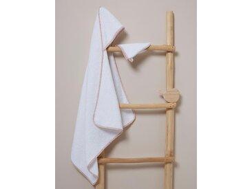 Cape de bain + gant en tissu Liberty liberty capel