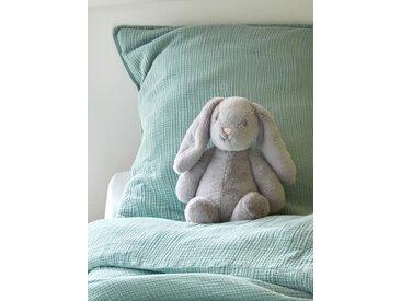 Peluche lapin, 36 cm gris