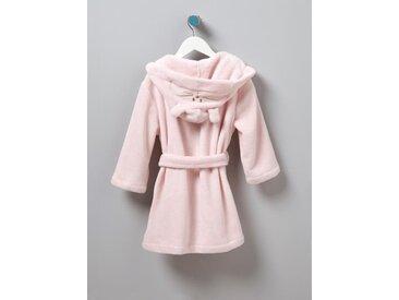 Robe de chambre enfant polaire chat rose