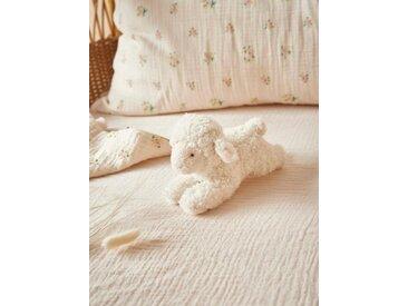Mini peluche agneau ivoire