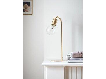 Lampe Arty en laiton doré brossé