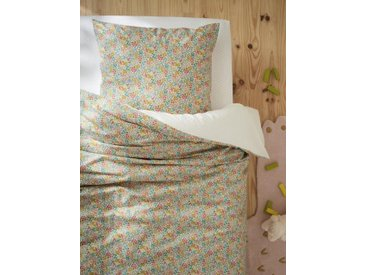 """Housse de couette tissu Liberty """"Sweet May"""" liberty sweet may (dos pois do"""