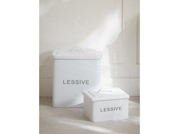 Boîte à lessive blanc