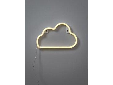 Luminaire néon nuage blanc