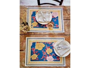 "Set de table ""Amita"" par lot de 2 - Collection Jamini Design imprimé amita"