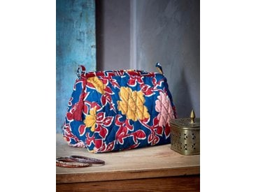 Trousse de toilette grand format - Collection Jamini Design imprimé amita