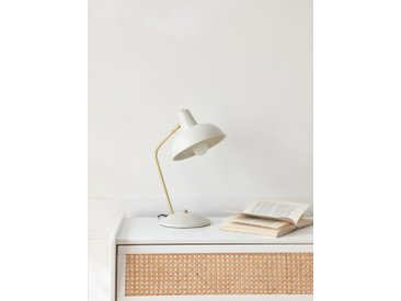 Lampe rétro ivoire
