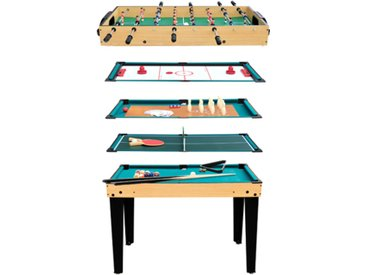 Table multi jeux 10 en 1