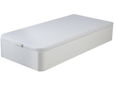 Sommier coffre HESTIA de DREAMEA PLAY - Blanc mat - 90 x 190 cm