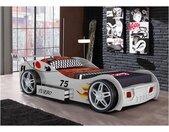 Lit voiture RUNNER avec tiroir - 90 x 200 cm - Blanc