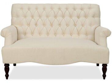 Canapé 2 places en tissu MANIFIA - Beige