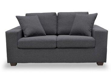 Canapé 2 places en tissu YUDO - Gris