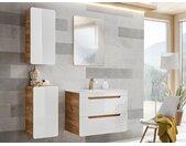 Ensemble ARUBA - meubles de salle de bain - blanc 80 cm