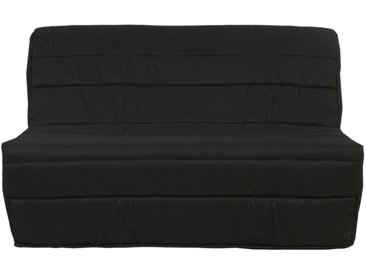 Canapé BZ en tissu COWBOY - Noir