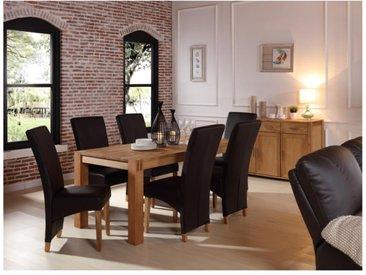 Table à manger BROCELIANDE II - 6 couverts - chêne huilé