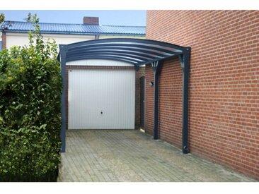 Carport en aluminium NEPTHYS 5*3.2m anthracite