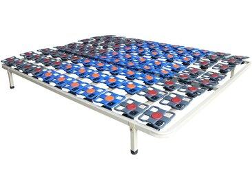 Cadre à lattes suspension tout plots de DREAMEA PLAY - 160 x 200 cm