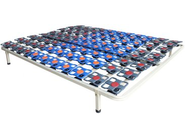 Cadre à lattes suspension tout plots de DREAMEA PLAY - 140 x 190 cm