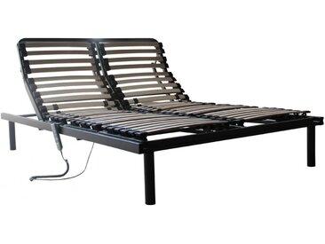 Sommier électrique de relaxation 5 plans de couchage - 140x200cm - moteur OKIN