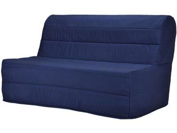 Canapé BZ en tissu COWBOY - Bleu nuit