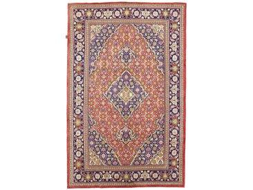 Tapis Persan Tabriz 283x181 Tabriz Gris Foncé/Beige (Noué à la main, Perse/Iran, Laine)