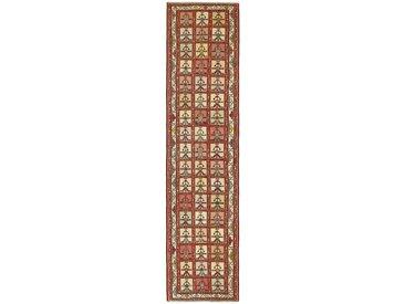 Tapis D'orient Kilim Soumak Shahsavan 279x68 Marron/Orange (Perse/Iran, Laine, Noué à la main)