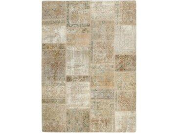 Tapis Patchwork 229x166 Beige (Laine, Perse/Iran, Noué à la main)