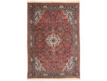 Tapis Persan Bidjar 144x94 Bidjar Rouille/Violet (Noué à la main, Perse/Iran, Laine)