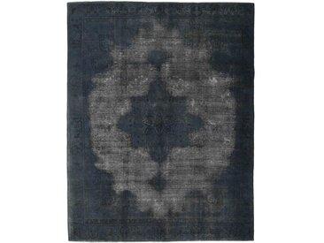 Tapis Vintage Royal 364x289 Gris Foncé/Bleu Foncé (Laine, Perse/Iran, Noué à la main)