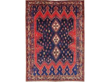 Tapis Persan Afshar 229x164 Afshar Rouille/Rose (Noué à la main, Perse/Iran, Laine)