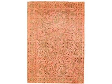Tapis Vintage Royal 311x218 Orange/Rose (Laine, Perse/Iran, Noué à la main)