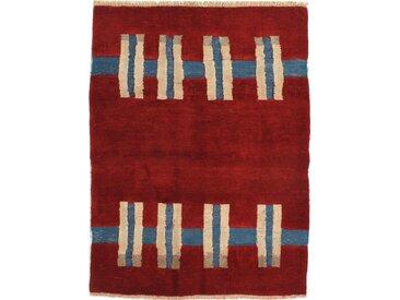 Tapis Kilim Gabbeh Nimbaft 171x126 Rouille/Rouge Foncé (Laine, Perse/Iran, Noué à la main)