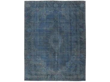 Tapis Persan Vintage Royal 323x251 Vintage Royal Gris Foncé/Bleu Foncé (Noué à la main, Perse/Iran, Laine)