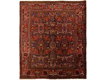 Tapis Persan Ghashghai 268x227 Ghashghai Gris Foncé/Marron (Noué à la main, Perse/Iran, Laine)